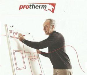 Отопление дома с котлами Protherm