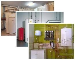 монтаж систем отопления, Сергей и Павел
