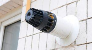 коаксиальный дымоход турбированного настенного котла