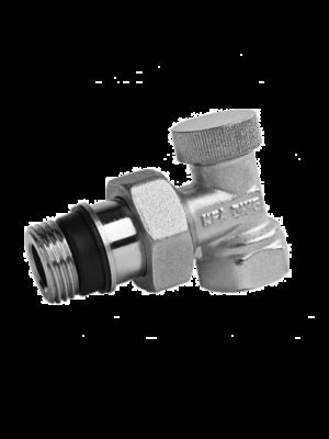Вентиль запорный угловой Armatura 751-100-07