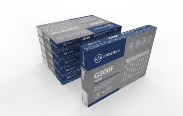 Новая упаковка алюминиевых радиаторов armatura G500F польша