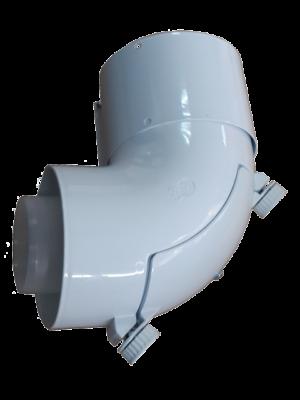Угол 90 гр. 60/100 PP с ревизионным отверстием для конденсационных котлов