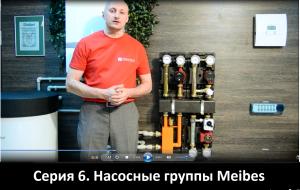 Насосные группы Meibes видео