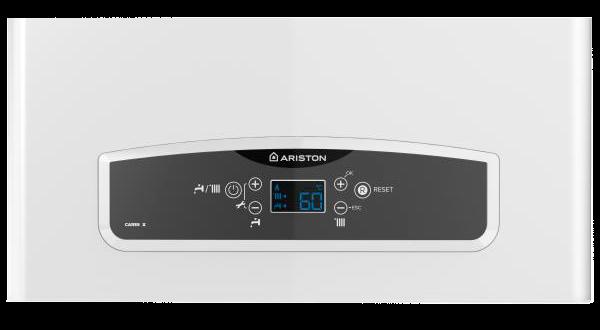 Панель управления газового котла Ariston серии Cares-X