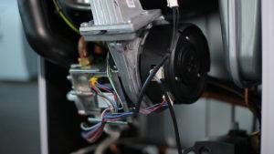 Турбина конденсационного газового котла Vaillant