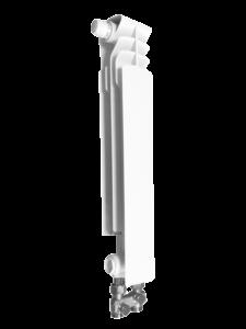 Секция радиатора (левая) Armatura с нижним прямым подключением