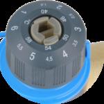 Двойная шкала термостатического клапана AFRISO ATM