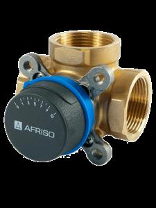 Поворотный смесительный 3-х ходовой клапан AFRISO ARV