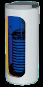 разрез бойлера косвенного нагрева Drazice 200 NTR