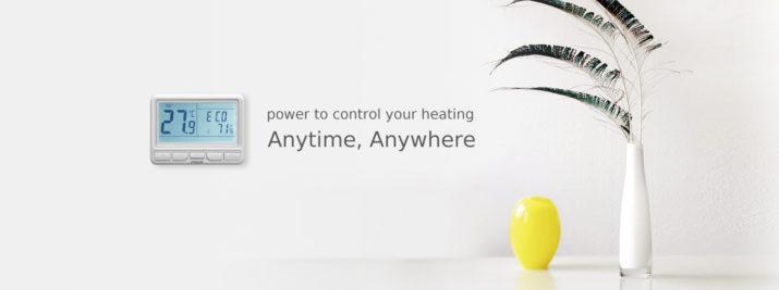 термостаты управления котлом и температурой через интернет poer smart