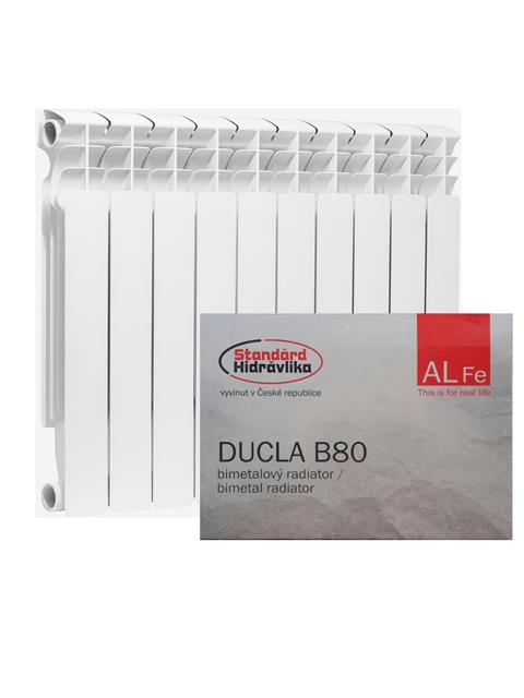 Биметаллические радиаторы Standard Hidravlika серии Ducla B 80