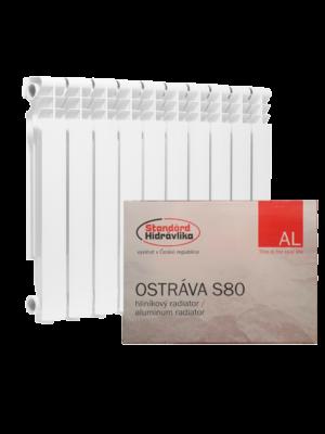 Алюминиевые радиаторы Standard Hidravlika серии Ostrava S 80