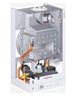 Газовые котлы viessmann vitopend 100-W тип A1HB / A1JB в разрезе