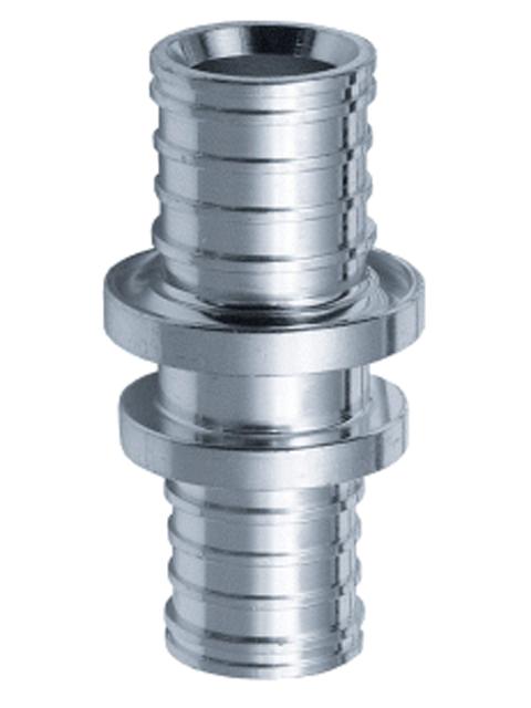 Соединительная муфта для труб теплого пола и радиаторного отопления, т.м. Maincor (Германия)