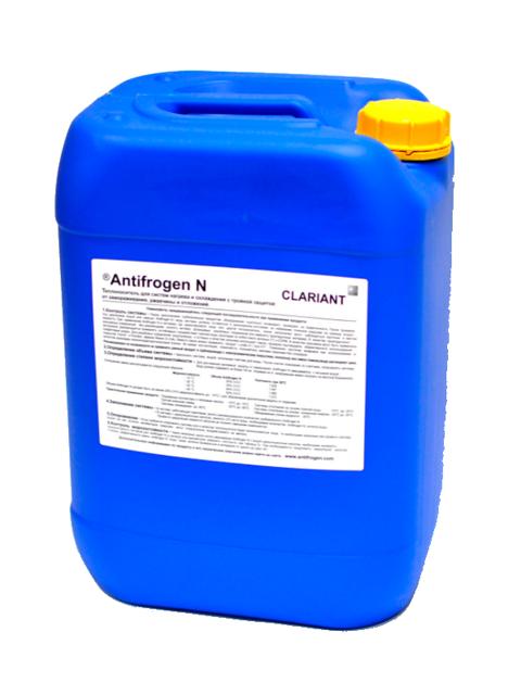 Antifrogen N - универсальный жидкий теплоноситель