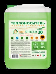 Теплоноситель жидкий Hot Stream EcoPro 30