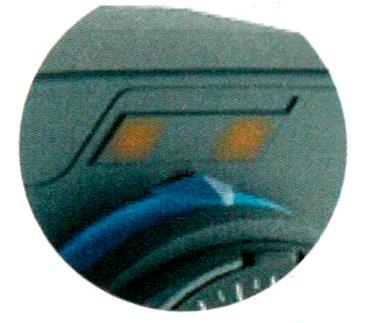 LED индикация направления движения сервопривода