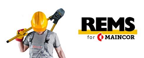 Аренда инструмента REMS для монтажа труб HELME и MAINCOR