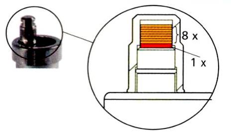 Система Aqua-Stop углового воздухоотводчика Afriso