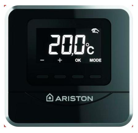 Комнатный проводной датчик в комплекте с газовым конденсационным котлом Ariston Alteas ONE