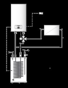 Схема монтажа электрокотла Protherm Скат