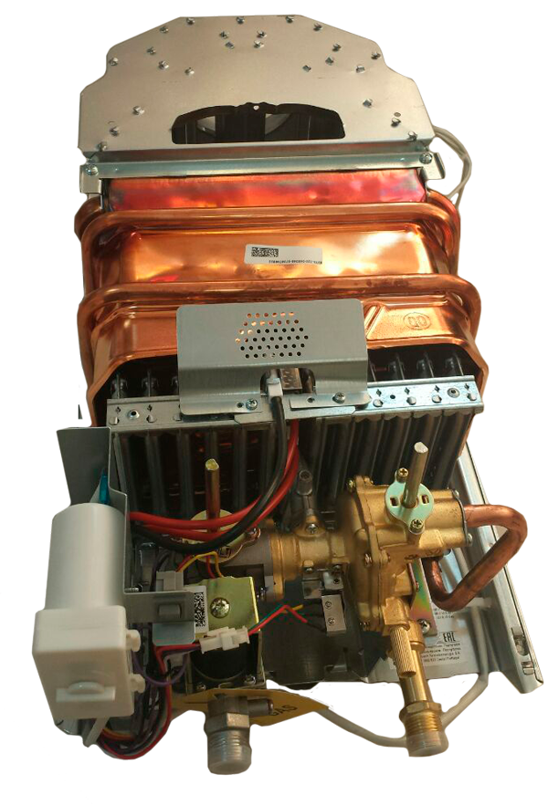 Узлы газовая колонка Bosch W 10 KB (без лицевой панели)