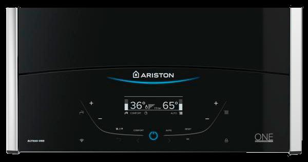 Панель управления газового конденсационного котла Ariston Alteas ONE