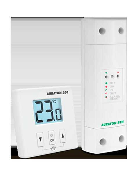 Беспроводной суточный регулятор температуры Auraton 200 RTH