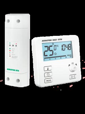 Беспроводной недельный регулятор температуры Auraton 3021 RTH
