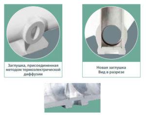 Устройство алюминиевых радиаторов отопления Fondital Exlusivo