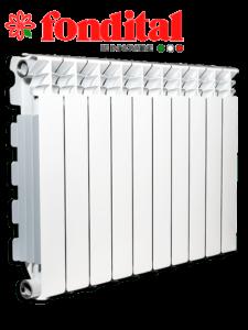 Преимущества Алюминиевый радиатор Fondital
