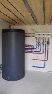 монтаж буферной емкости в системе отопления