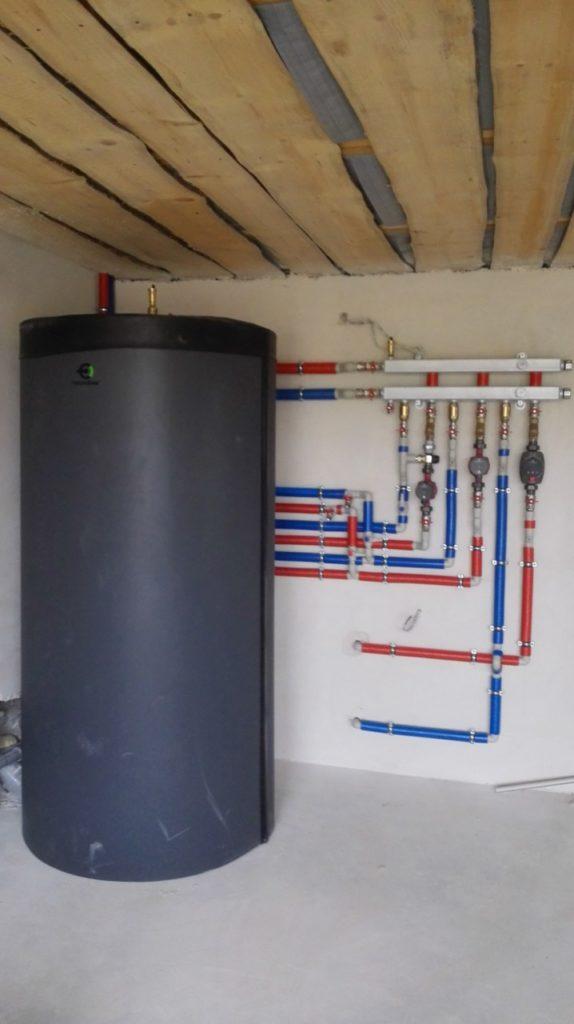 монтаж буферной емкости в системе отопления заславль
