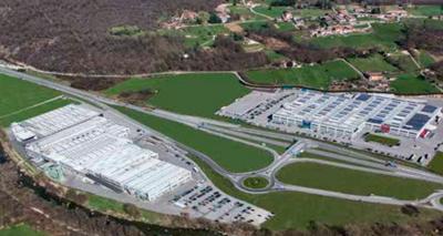 Завод Fondital в Италии