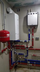 Монтаж системы отопления дома с котлом Bosch