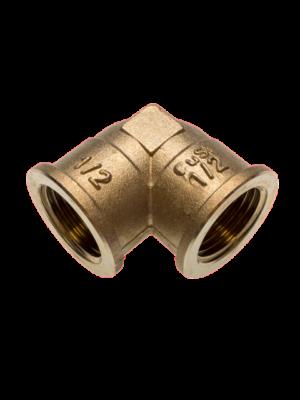 Фитинг SANHA из бронзы, отвод 90 гр., ВР-ВР, арт. 3090