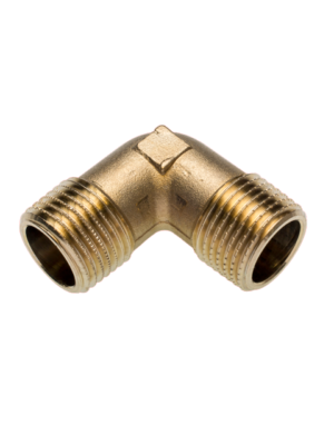 Фитинг SANHA из бронзы, угол 90 гр., НР-НР, арт. 3091