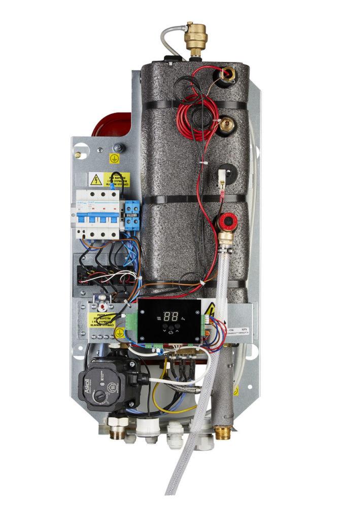 Устройство электрического котела Bosch Tronic Heat 3000