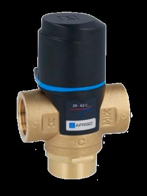 Термостатический трехходовой клапан теплого пола AFRISO ATM
