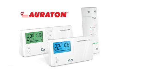 комнатные термостаты отопления auraton