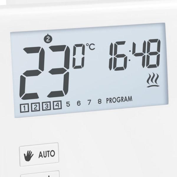 Проводной недельный регулятор температуры Auraton 2030