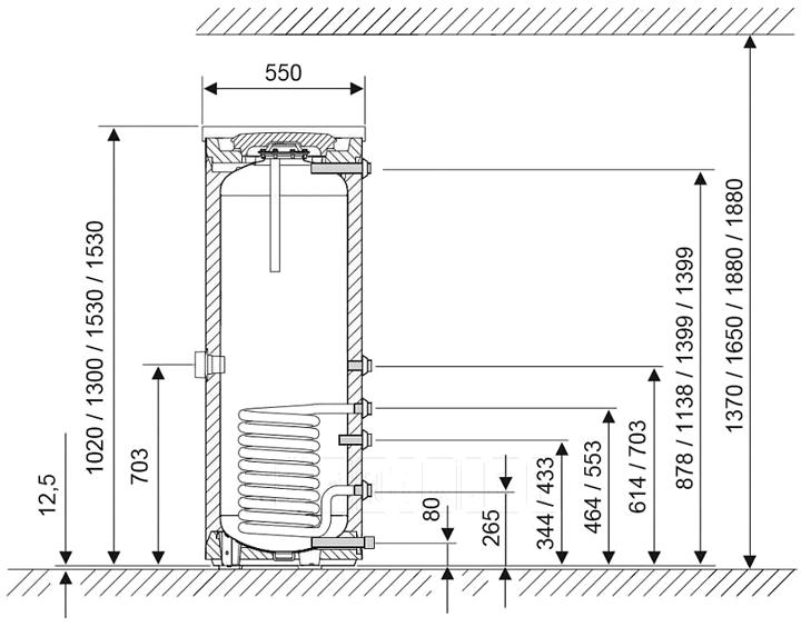 бойлер-bosch-wst-160-5b