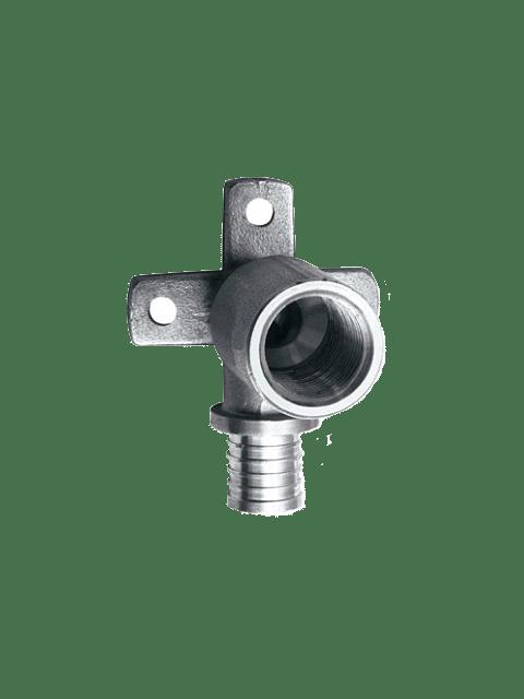 Поворот под натяжное кольцо Maincor 40603101 с внутренней резьбой и креплением