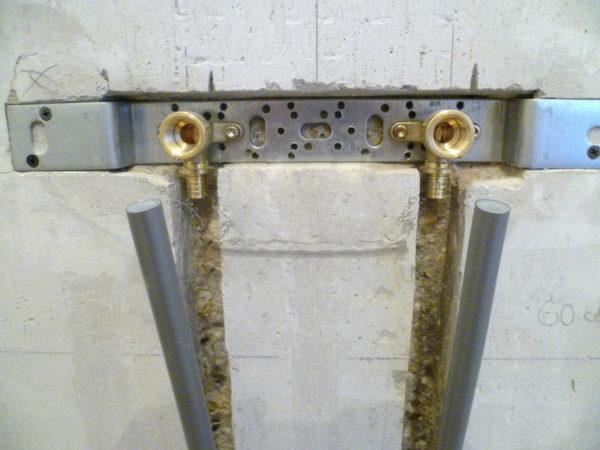 Монтаж водорозеток с использование крепления Maincor 70700450