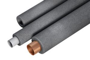 Теплоизоляция для труб отопления и воды из полиэтилена