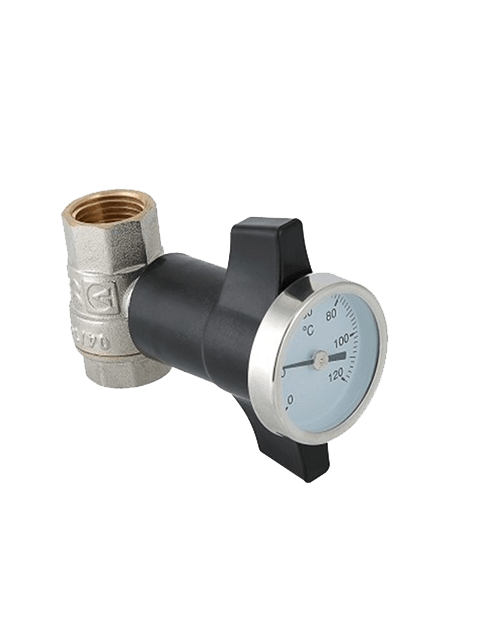 Кран шаровой с термометром Valtec VT808