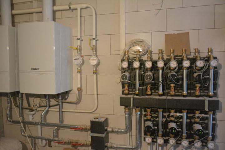 работы по монтажу систем отопления с газовыми котлами Vaillant