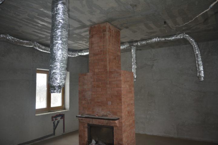 работы по монтажу системы вентиляции дома