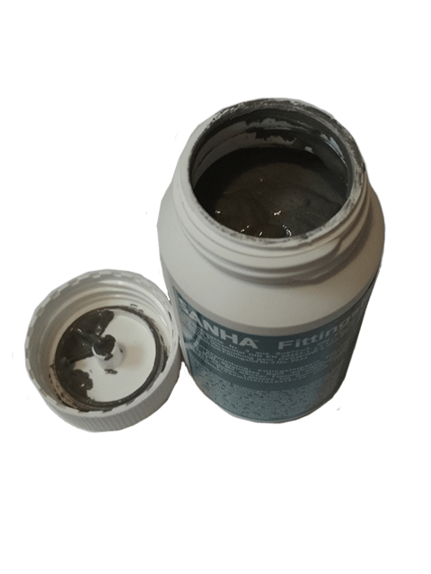 Паяльная паста с добавлением припоя (флюса) SANHA Nr.3