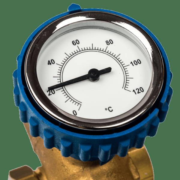 кран и термометр BARBERI